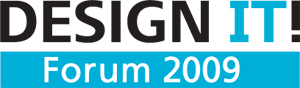 DESIGN IT! Forum 2009 logo